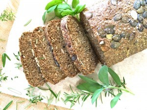 1. Brown rice seeded bread b