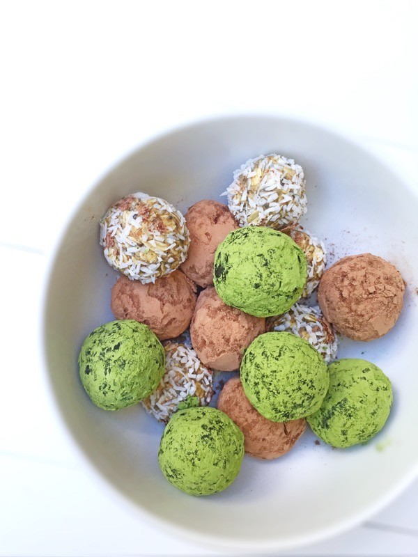 Sweet Chia Seed Bites
