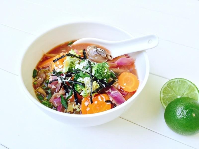 Tofu & Pumpkin Miso Soup