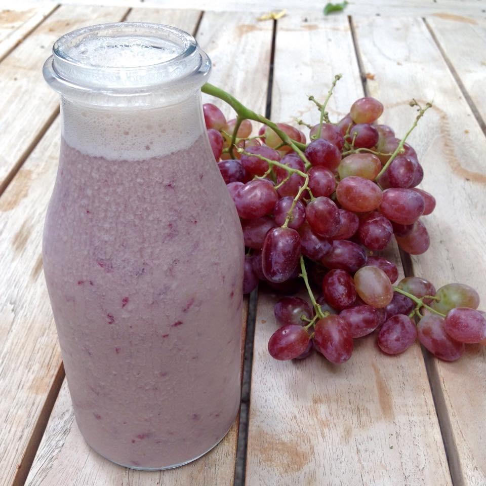Vanilla  Grape Smoothie