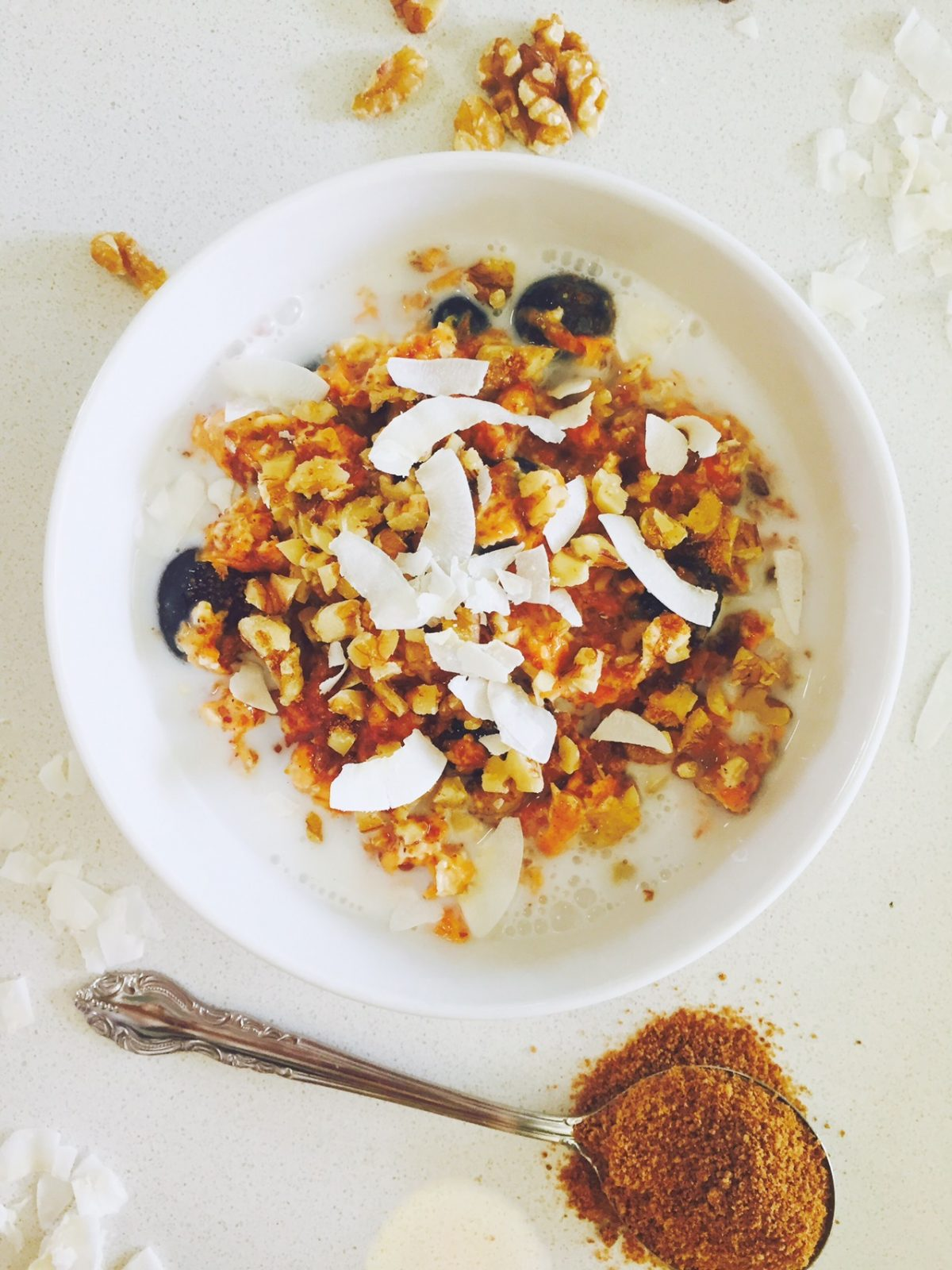 Overnight Carrot Cake Oats