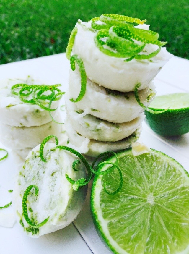 Key Lime Coconut Candies
