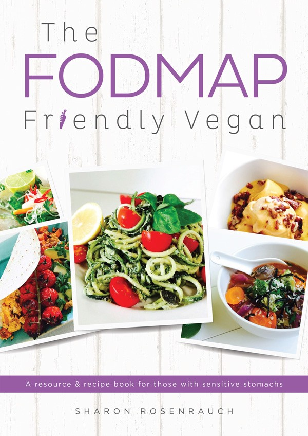 Vegan Cookbook Cover : The fodmap friendly vegan ebook
