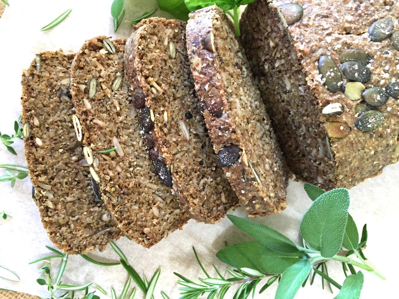 Brown Rice Seeded Bread