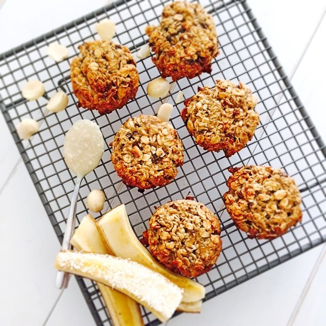 Decadent Choc & Banana Nut Cookies