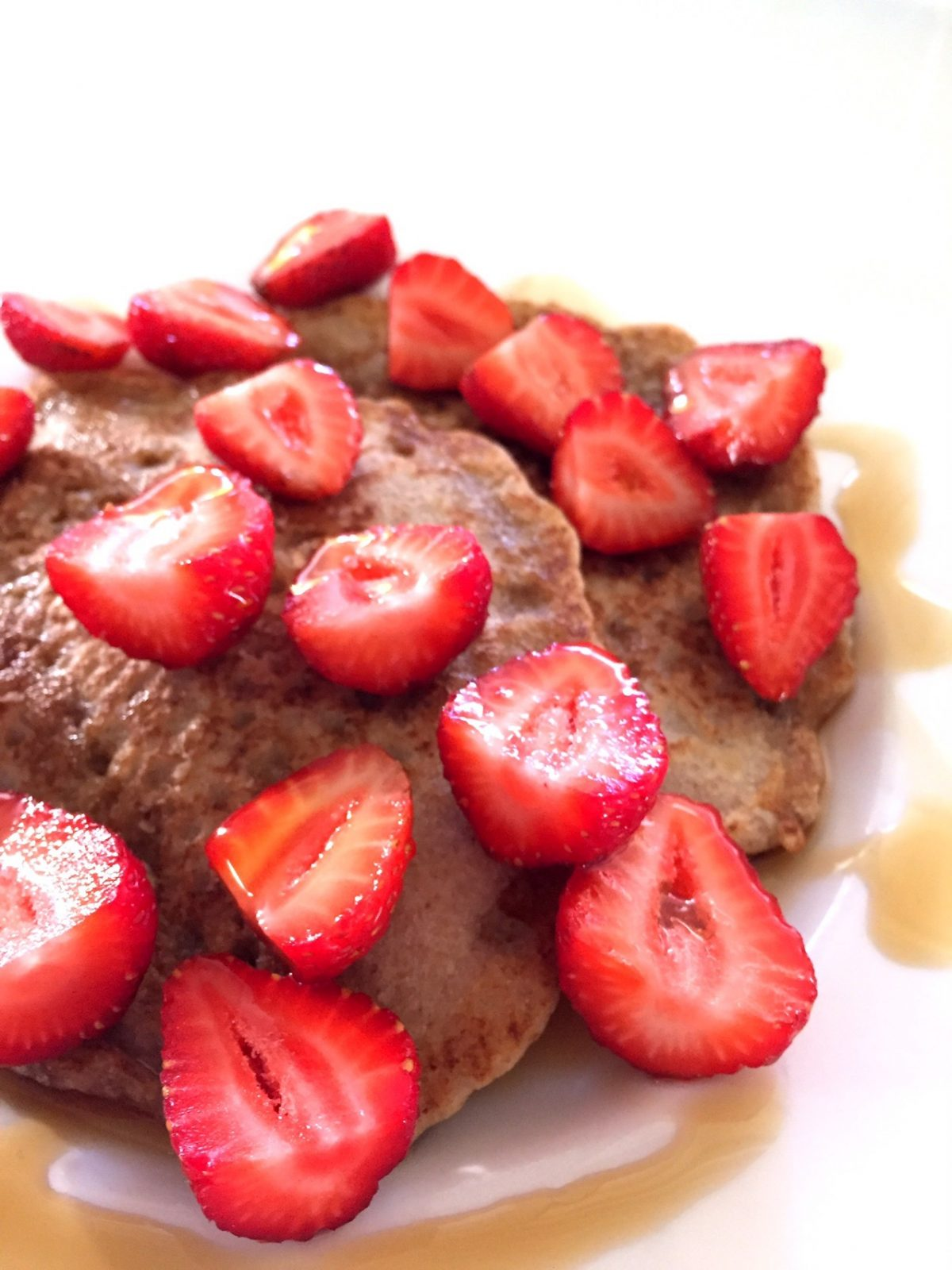 Simple Sweet Buckwheat Pancakes