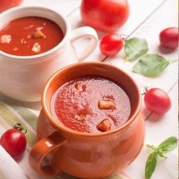 Thick Roasted Capsicum & Tomato Soup