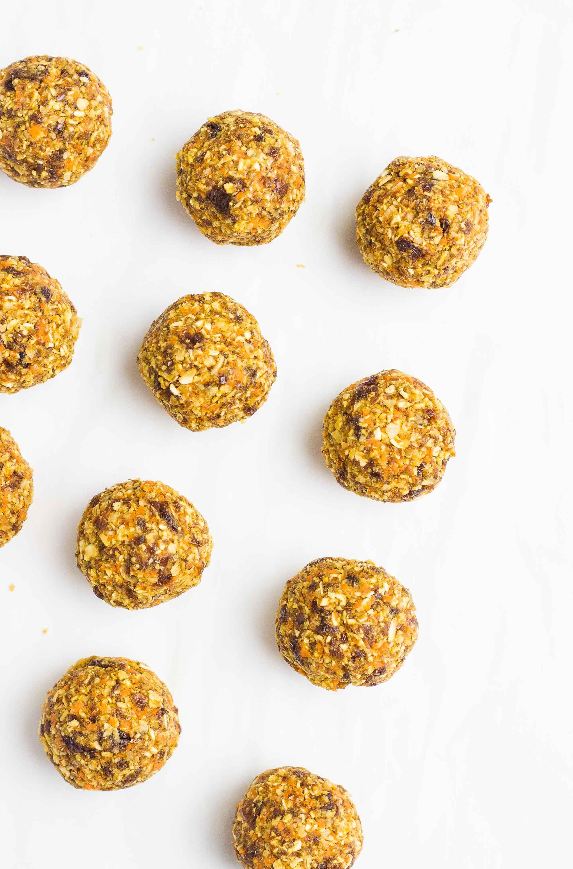 Spiced Chai Bliss Balls