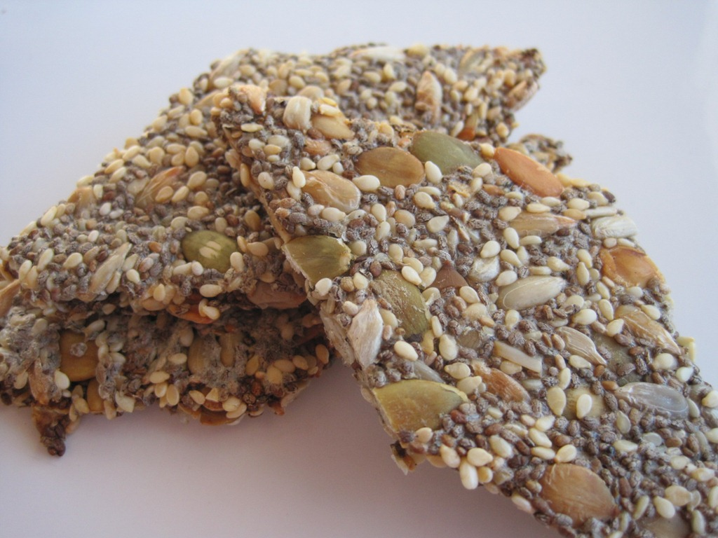 Raw Multi-Seed Crackers